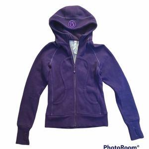 Lululemon sweater Size 4 Dark Purple